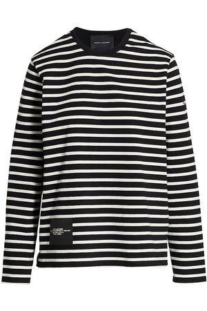 The Marc Jacobs Women Sports T-shirts - Striped Cotton T-Shirt