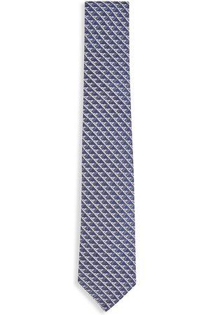 Armani Boys Neckties - Kid's Silk Logo Tie