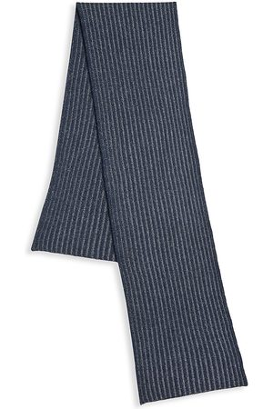 Saks Fifth Avenue COLLECTION Two-Tone Ribbed Wool Scarf