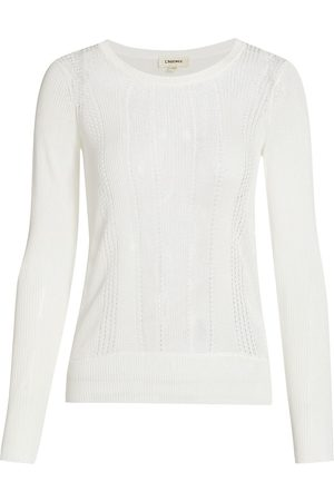 L'Agence Women Sports Hoodies - Whitley Pullover Sweater