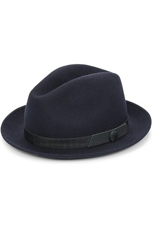 Saks Fifth Avenue Men Hats - COLLECTION Banded Wool Fedora