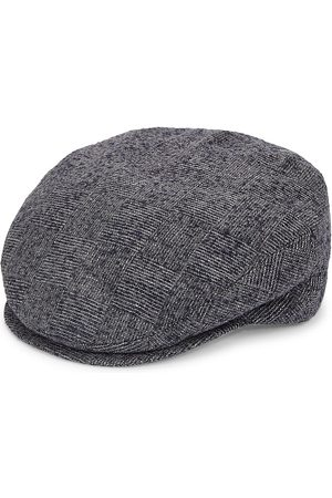 Saks Fifth Avenue COLLECTION Flannel Flat Cap