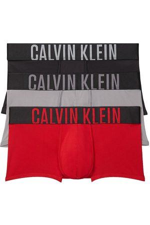 Calvin Klein 3-Pack Low-Rise Logo Trunks