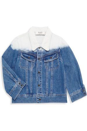 SEA Little Girl's & Girl's Dip-Dye Denim Jacket