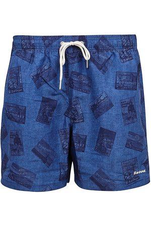 Barbour Men Swim Shorts - Archive Printed Swim Trunks
