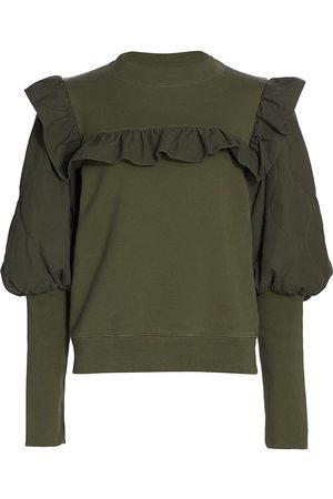 SEA Layla Puff Sleeve Sweatshirt