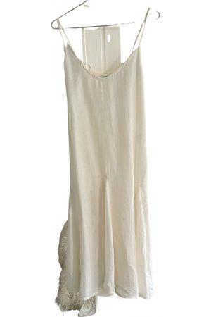 CHAN LUU Silk mid-length dress