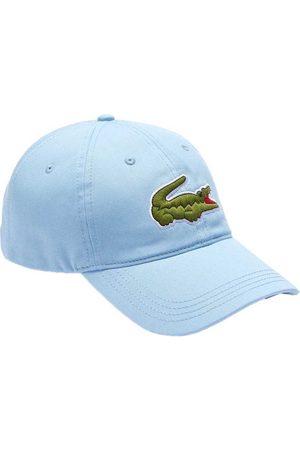 Lacoste Men Caps - Contrast Strap Oversized Crocodile Cotton Cap One Size Panorama