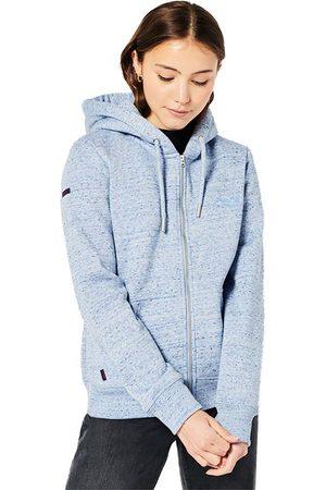 Superdry Women Hoodies - Vintage Logo Embroided Full Zip Sweatshirt S La Marl