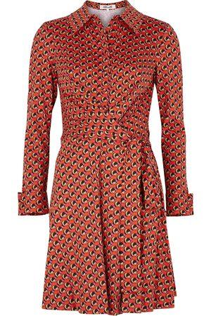 Diane von Furstenberg Didi printed silk-blend jersey dress