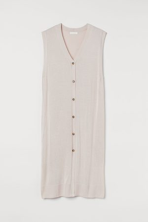 H&M Women Knitted Dresses - Fine-knit Dress