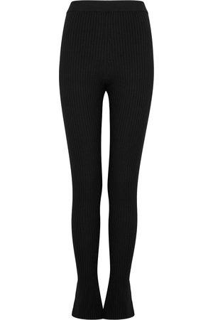 MERLETTE Women Sweats - Alban ribbed stretch-wool leggings