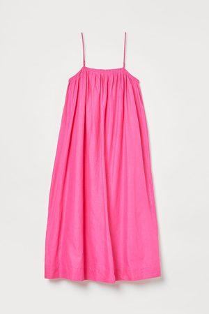 H&M Voluminous Linen-blend Dress