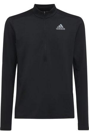 adidas Men T-shirts - Primegreen 1/2 Zip L/s Running T-shirt