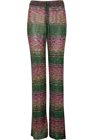 MARQUES'ALMEIDA Women Jeans - Space-dyed ribbed-knit trousers