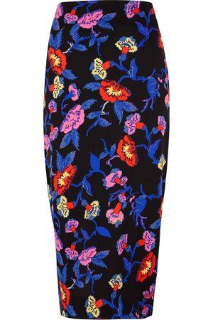 Diane von Furstenberg Women Printed Skirts - Kara printed pencil skirt