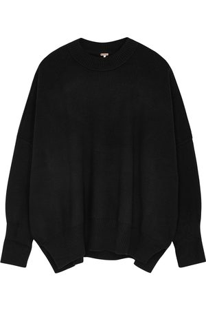 Free People Easy Street ribbed cotton-blend jumper