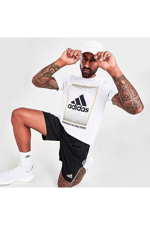 adidas Men T-shirts - Men's Badge of Sport Box Label T-Shirt in / Size X-Small 100% Cotton