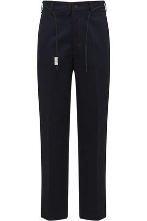 Marni Straight Leg Cotton Twill Chino Pants