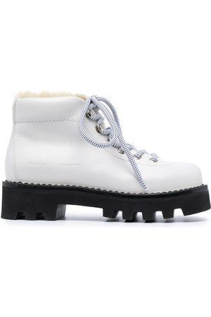 Proenza Schouler Women Outdoor Shoes - Shearling hiking boots