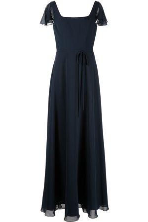 Marchesa Notte Women Evening dresses - Flutter-sleeve bridesmaid gown