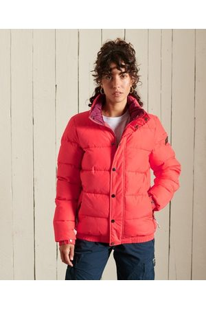 Superdry Women Puffer Jackets - Source Retro Puffer Jacket