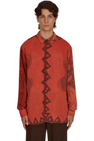 MAGLIANO Men Polo Shirts - Surplus foulard patch shirt POPPY S