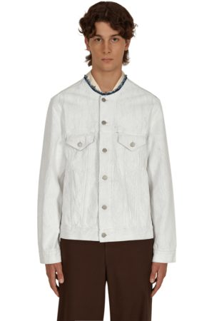 Maison Margiela Men Denim Jackets - Bianchetto denim jacket CRACK L
