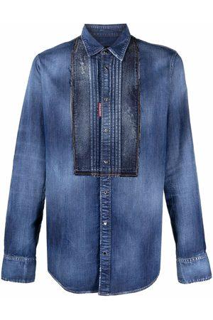Dsquared2 Men Denim - Button-up denim shirt