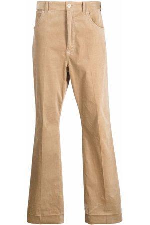 Acne Studios Men Wide Leg Pants - Long flared trousers - Neutrals