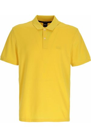 HUGO BOSS Men Polo Shirts - Embroidered-logo polo shirt