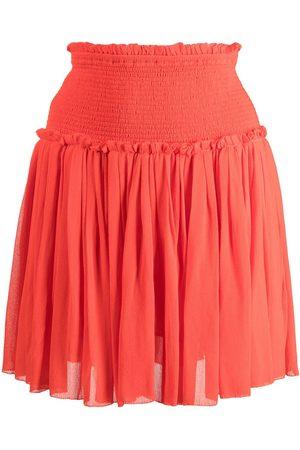 Cynthia Rowley Women Mini Skirts - Pleated mini skirt