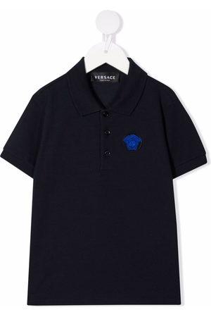 VERSACE Polo Shirts - Medusa-detail polo shirt