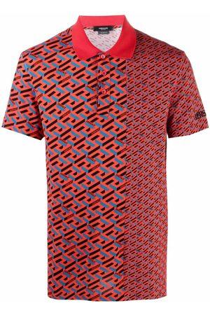 VERSACE Men Polo Shirts - La Greca polo shirt