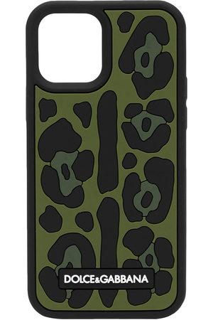 Dolce & Gabbana Men Phones Cases - Leopard-print iPhone 12 Pro case