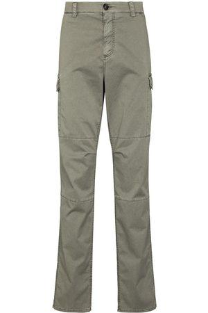 Brunello Cucinelli Men Cargo Pants - Dyed straight-leg cargo chinos