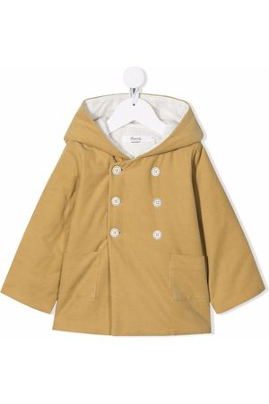 BONPOINT Duffle Coat - Hooded double-breasted coat - Neutrals