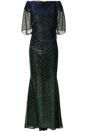 TALBOT RUNHOF Women Evening dresses - Gathered-tulle fishtail gown