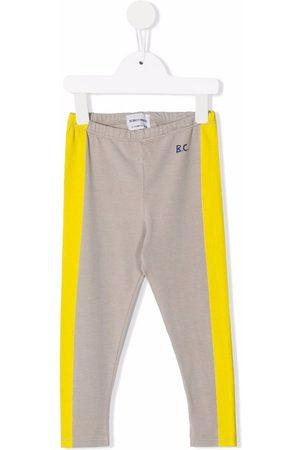 Bobo Choses Baby Leggings - Stripe detail leggings - Grey