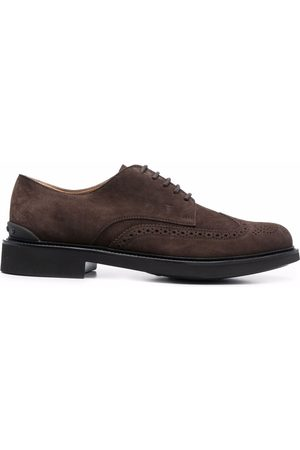 Tod's Men Brogues - Brogue-detail lace-up Oxford shoes