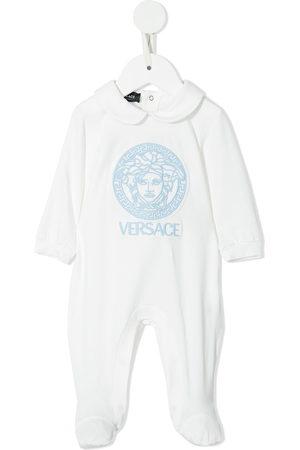 VERSACE Bodysuits & All-In-Ones - Logo print babygrow