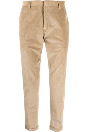Paul Smith Men Formal Pants - Ribbed pressed-crease trousers