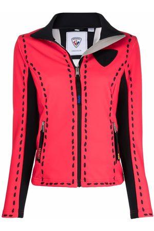 Rossignol Women Leather Jackets - Rainbow Snow zipped jacket - 300
