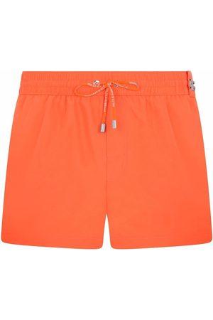 Dolce & Gabbana Logo-plaque swim shorts