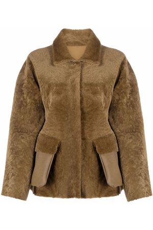 DESA 1972 Women Leather Jackets - Reversible shearling jacket