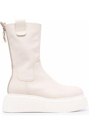 AGL ATTILIO GIUSTI LEOMBRUNI Women Heeled Boots - Milagros platform boots - Neutrals