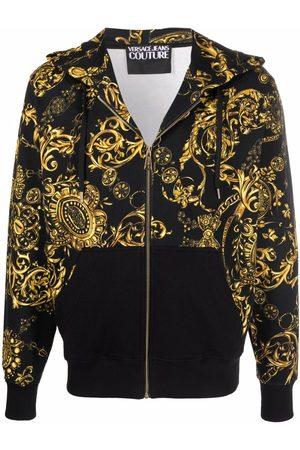 VERSACE Men Hoodies - Barocco print hoodie