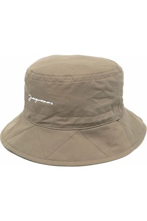 Jacquemus Picchu logo-embroidered bucket hat