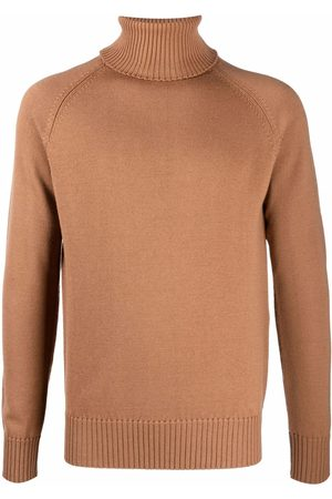BALLANTYNE Men Turtlenecks - Roll neck wool jumper