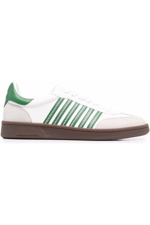 Dsquared2 Men Sneakers - Striped low-top sneakers